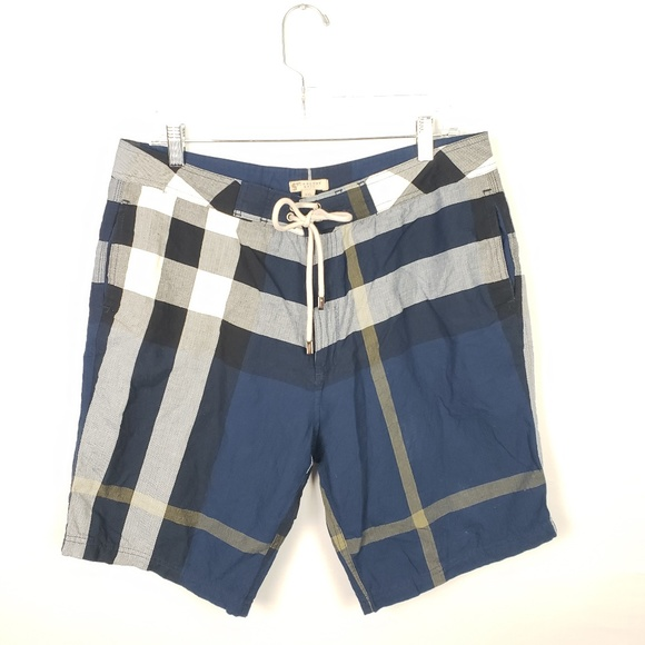 86be2917c6 Burberry Other - Burberry Brit Shorts Size XXL Plaid Cotton #571